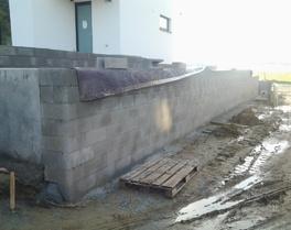 Grond- & Afbraakwerken Mues bvba - Kersbeek-Miskom - Tielt-Winge : buitenaanleg rond nieuwbouw