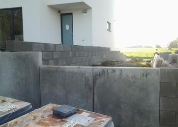 BVBA MUES - Tielt-Winge : buitenaanleg rond nieuwbouw - Fotogalerij
